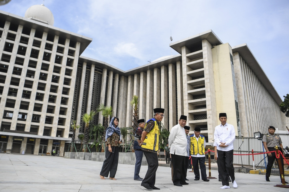 'Brotherhood tunnel' to connect Istiqlal Mosque, Jakarta Cathedral