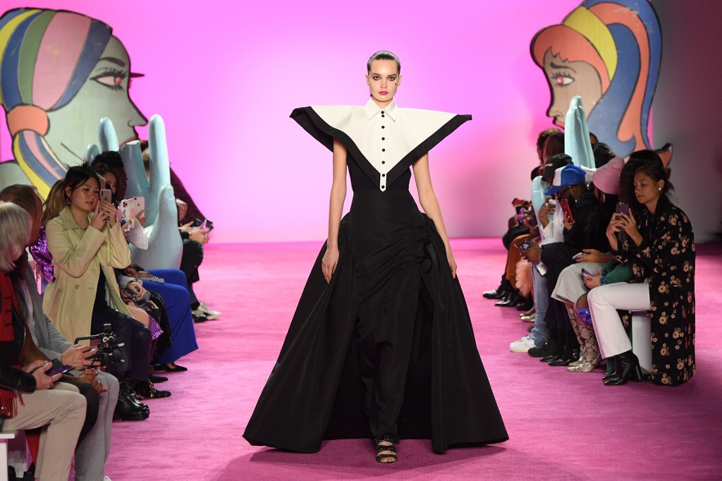 Comics and cubism as Christian Siriano shines at Fashion Week