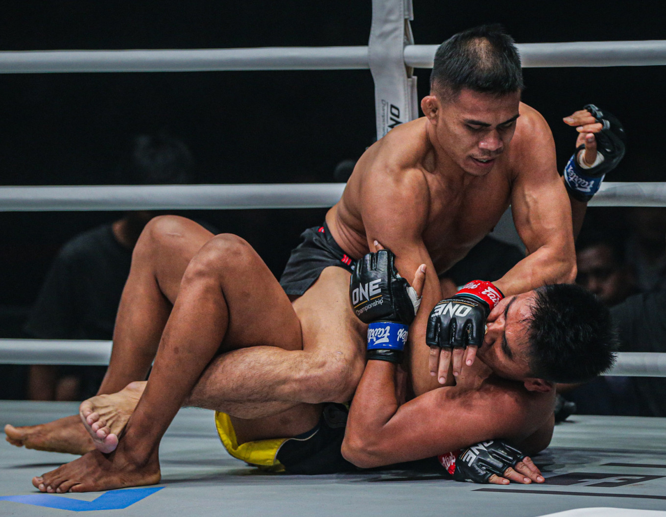 MMA fighter Eko Roni proves his point by overpowering Sichan in first round