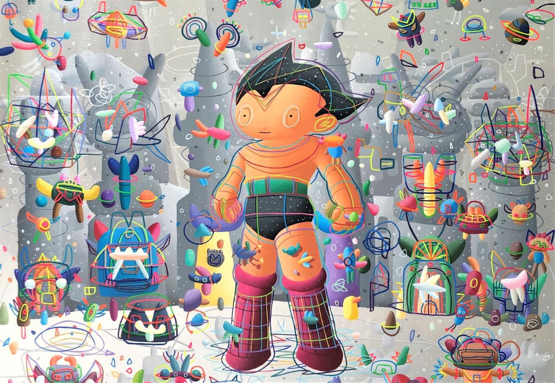 Ronald Apriyan: Celebrating childhood wonder on canvas