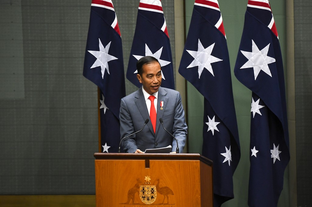 Jokowi to discuss capital relocation during Canberra visit