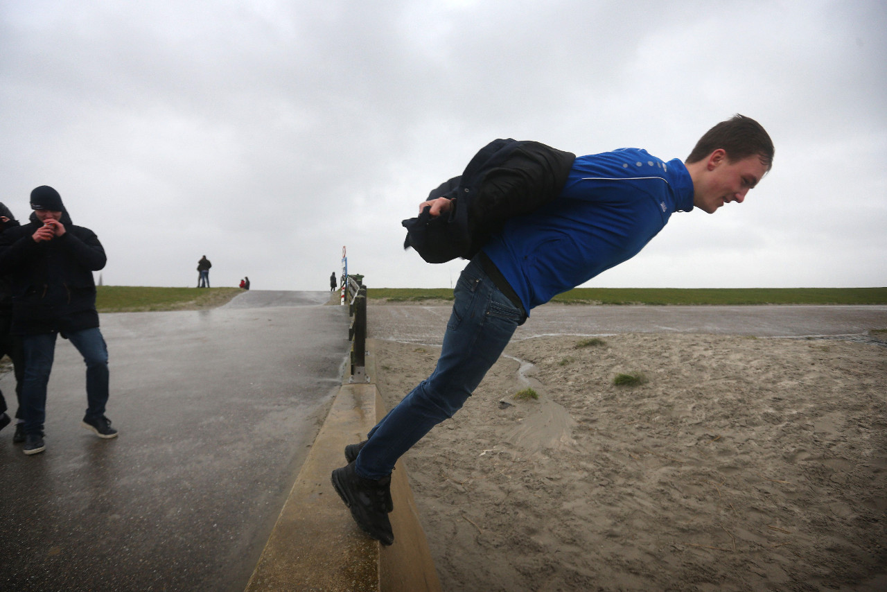 Storm Ciara lashes sports events across Europe