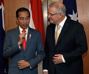 Jokowi aims to strengthen trade ties on Australia visit
