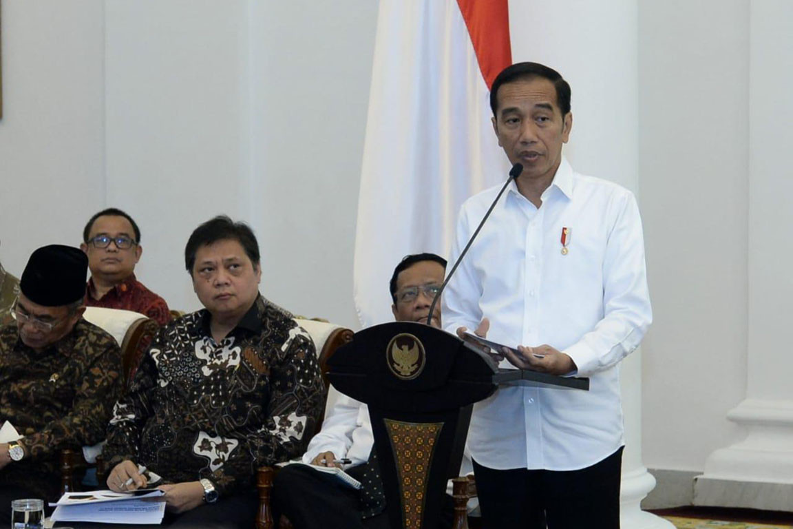 COVID-19: Jokowi urges people to remain calm and respect patient privacy