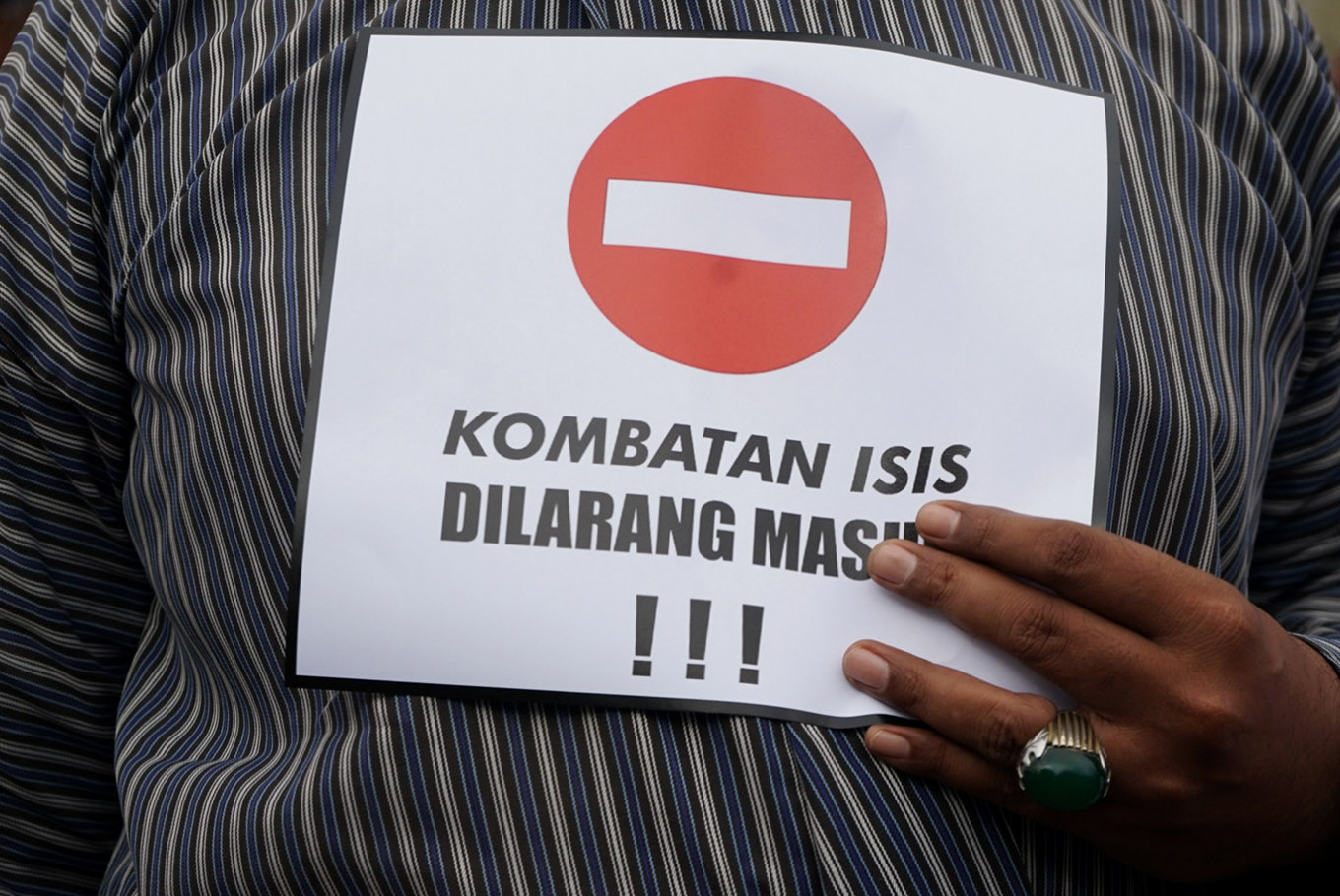 Indonesia won't bring 'terrorist virus' home