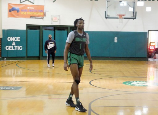 Congolese teen Kuminga awaits his chance at NBA stardom