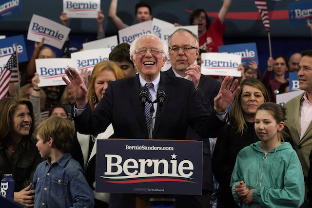 Sanders wins in New Hampshire as Biden crashes and burns