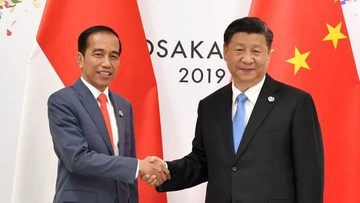 Indonesia to 'stand together with China' in battle against COVID-19, Jokowi tells Xi