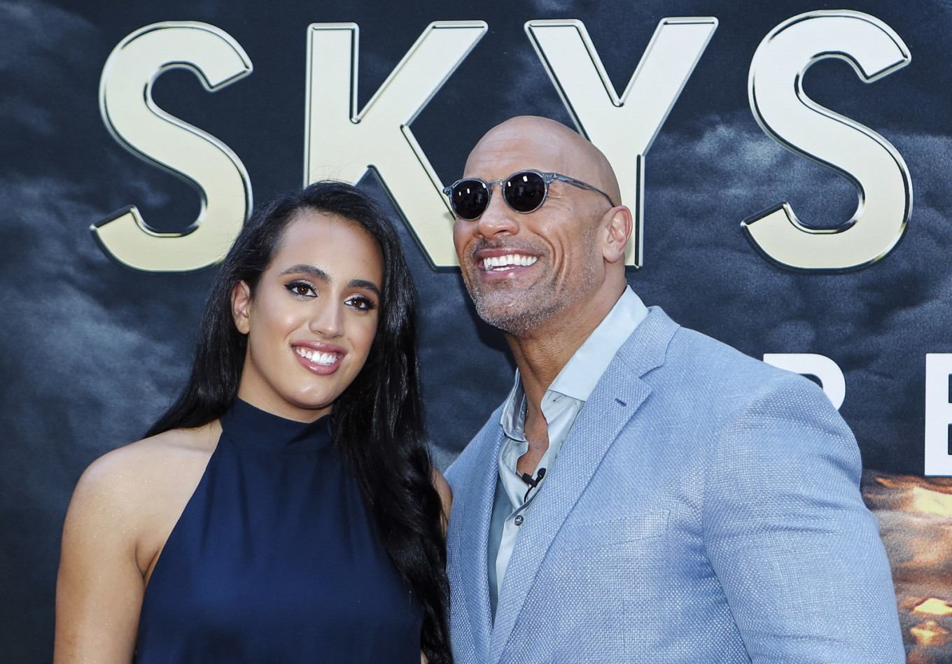 Dwayne 'The Rock' Johnson's daughter signs up with WWE