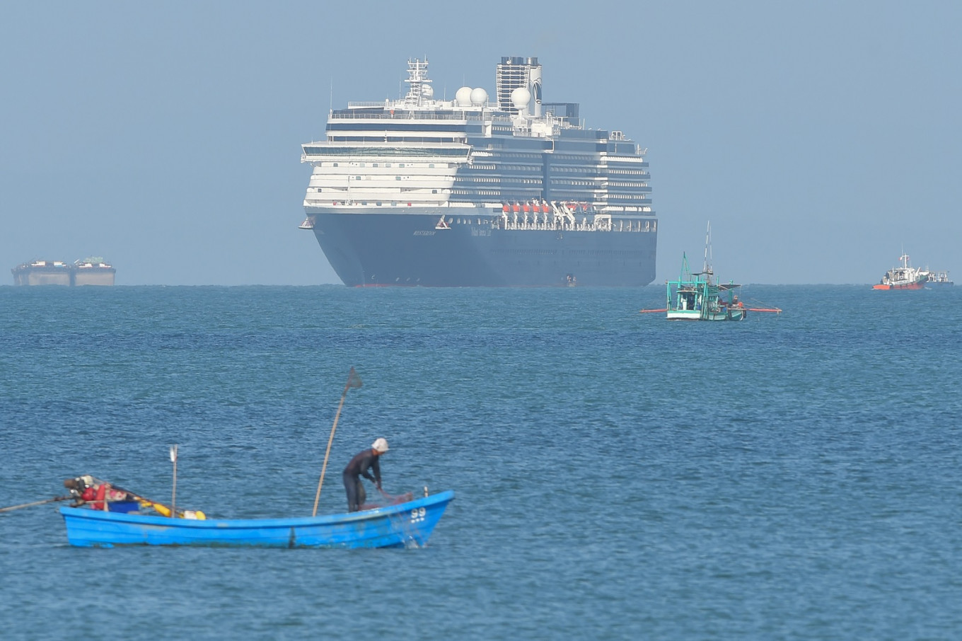 Coronavirus: 362 Indonesians aboard Westerdam cruise ship healthy, minister says