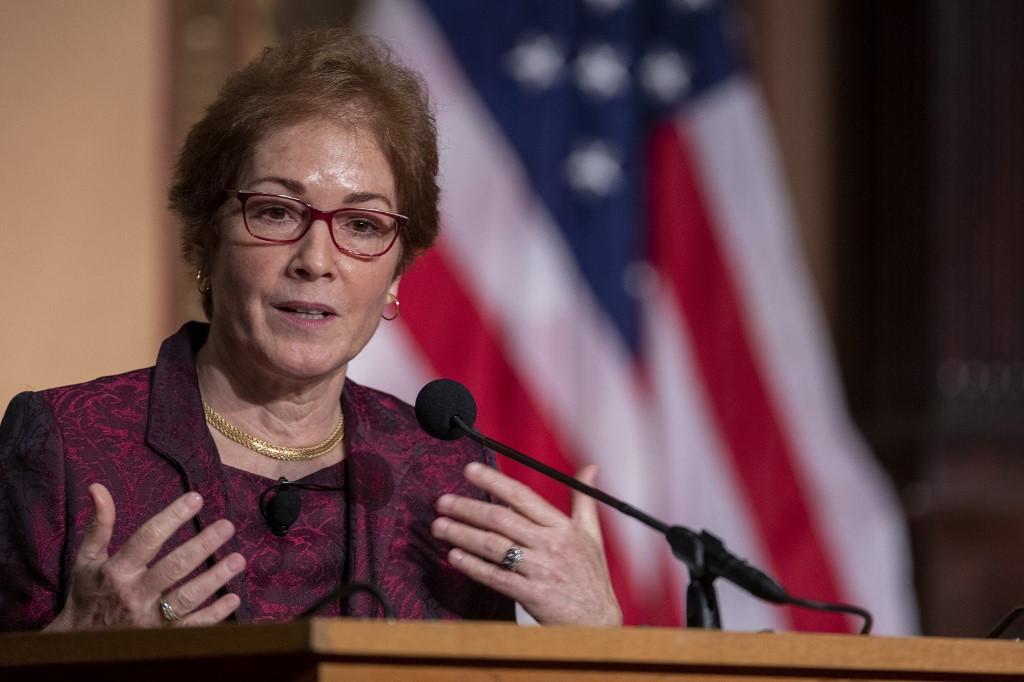 Ousted ambassador calls Trump diplomacy 'amoral'