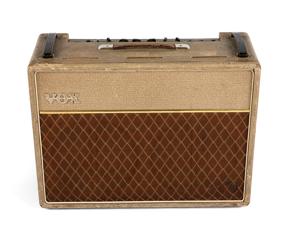 Bill Wyman's Rolling Stones audition amp goes up for auction