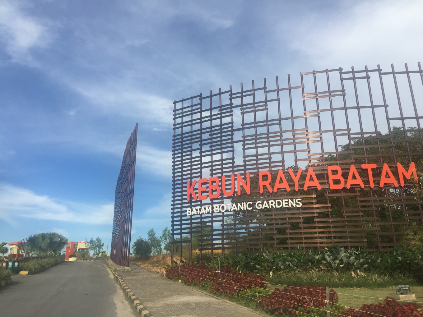 Slow but steady: Unfinished Batam Botanical Gardens begin attracting tourists