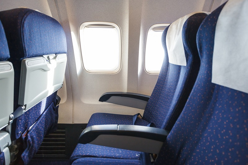 Viral video shows man punching woman's reclined seat on a flight