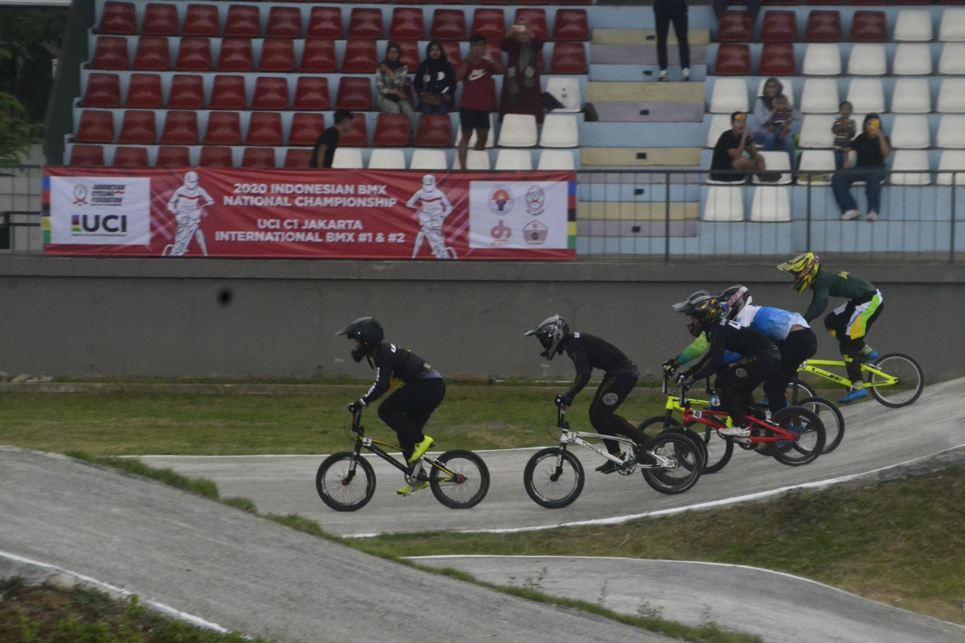 Indonesian BMX rider battles injury to keep Olympic dream alive