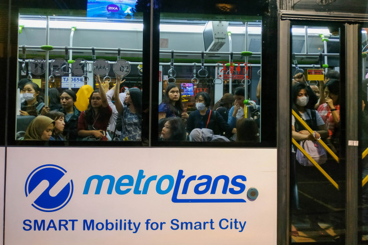 Anies appoints former Merpati Airlines CEO to helm Transjakarta