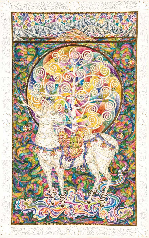 'Tree on Enlightenment, Deer Park Mandala I' by I Nyoman Wirdana.