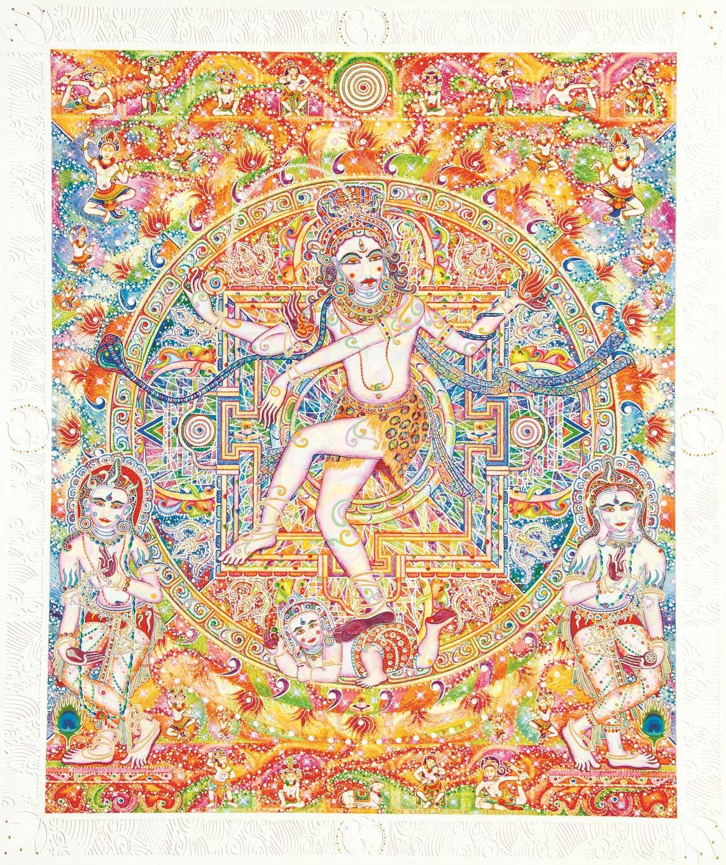 'The Dance of Shiva' by I Nyoman Wirdana.