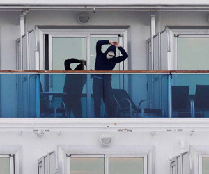 'I'll let fate take its course' Indonesian on quarantined cruise ship shares exp...