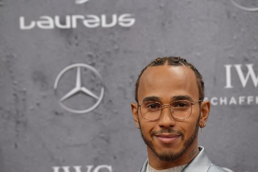Hamilton and Messi share the Laureus award for the year's best sportsman