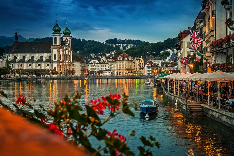 Switzerland is the safest country for travelers
