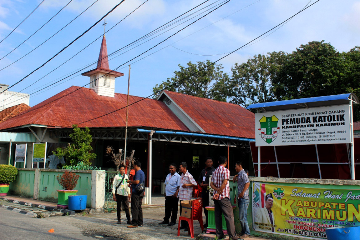Religious ministry denies protests against Riau Islands church renovation related to intolerance