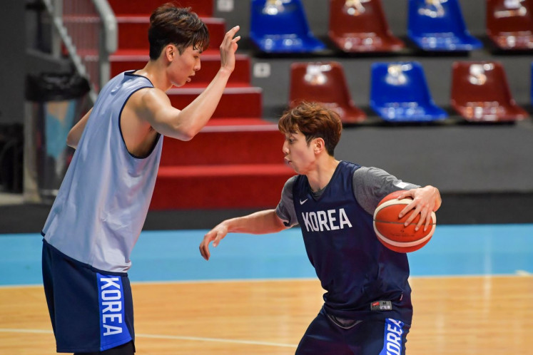 Indonesian national basketball team faces tall order at World Cup qualifiers