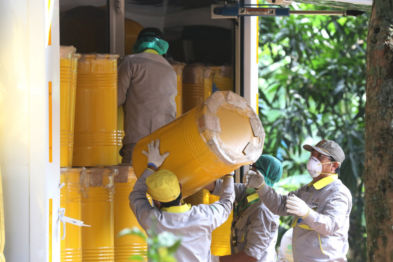 More radioactive substances found at South Tangerang housing complex