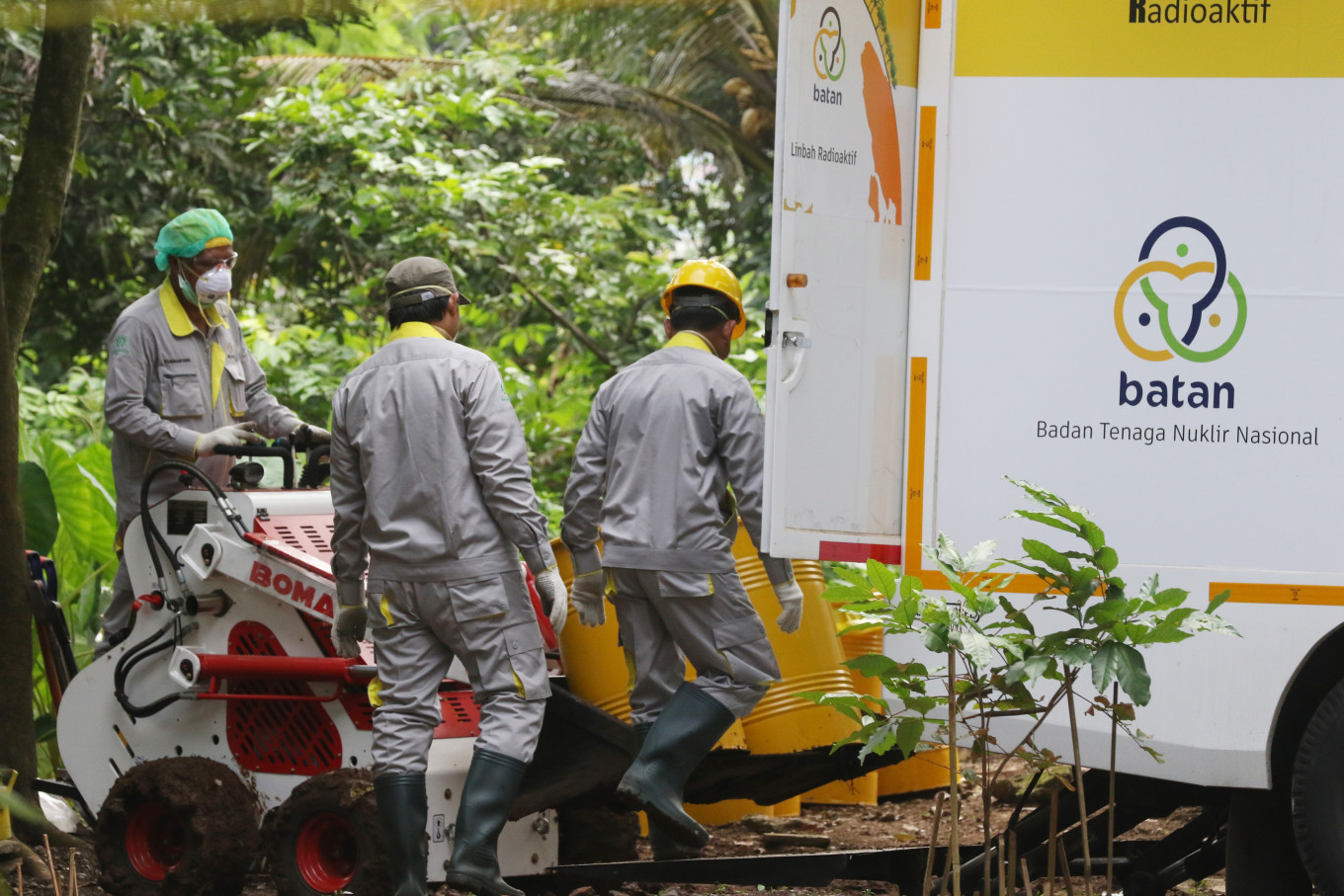 Radiation level in South Tangerang house returns to normal eight months after intial test