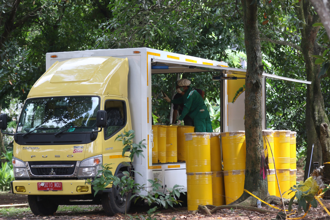 Nuclear agency collects more samples in probe into irradiated area in Banten housing complex