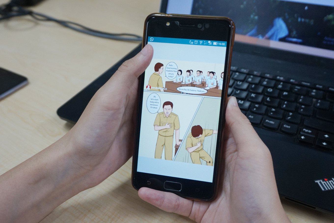 Indonesian digital comic aims to raise awareness about heart attacks