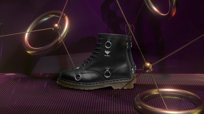Raf Simons presents his take on Dr. Martens Original 1460 boots