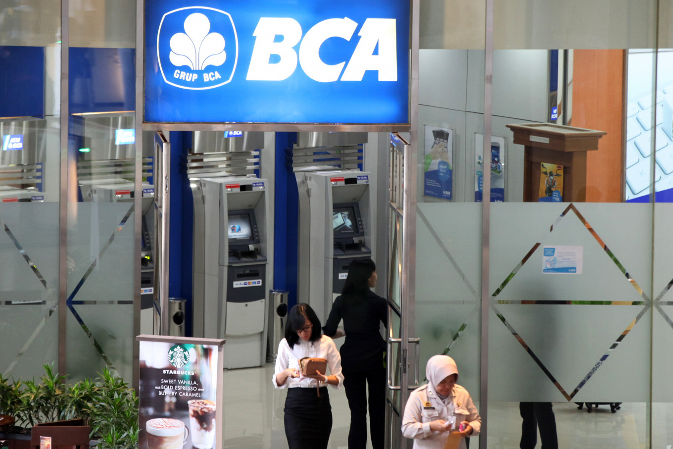 BCA H1 net profit contracts as loan growth cools, bad debts rise
