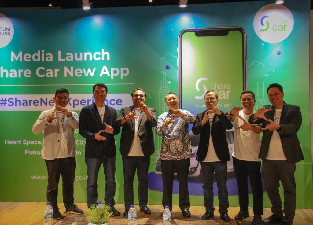 Share Car and QI launch car rental app