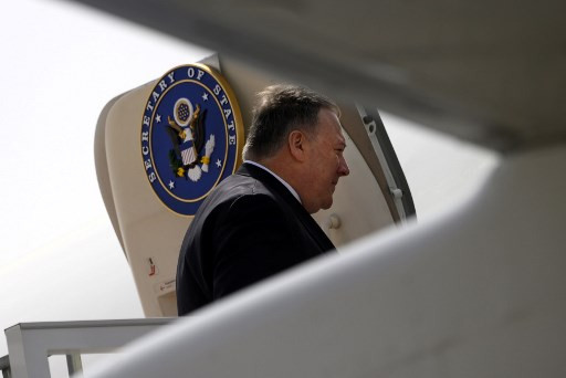 US Secretary of State Pompeo arrives in Kabul to meet Afghan political rivals