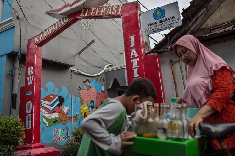 West Jakarta literacy kampung nurtures children's interest in reading