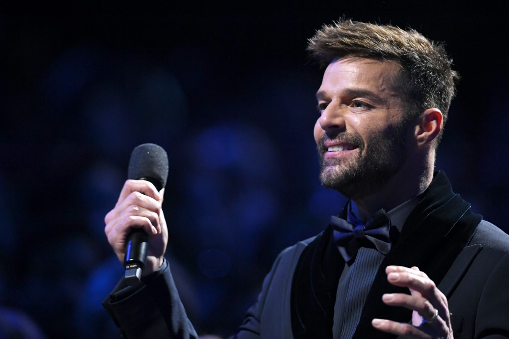 Ricky Martin now 'in a good place' after putting up brave front amid uncertainty, anxiety
