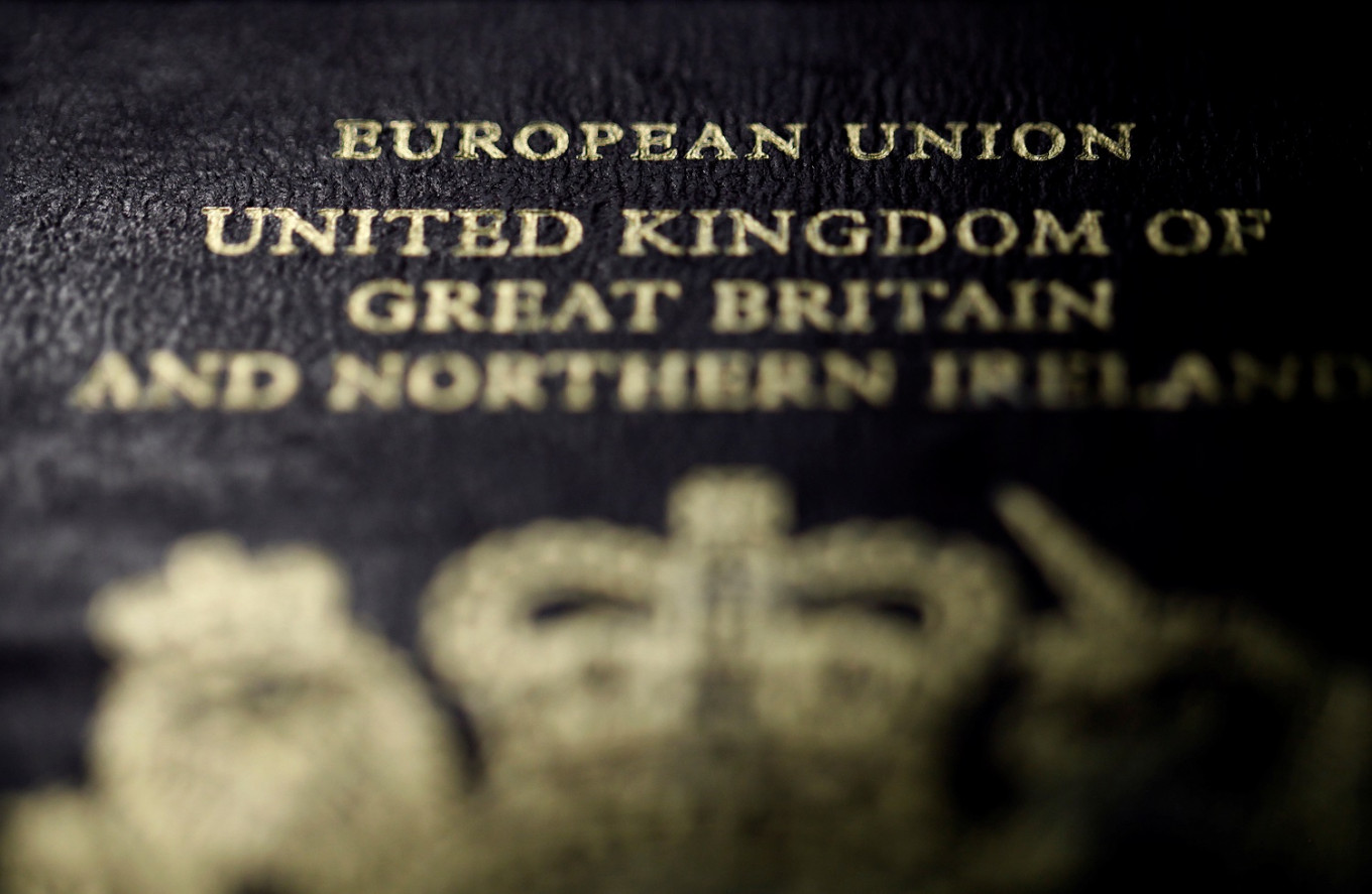 Back to blue: UK passports revert to old color from next month