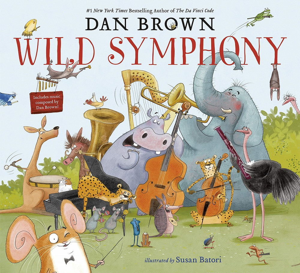 Dan Brown to release debut children's book 'Wild Symphony'