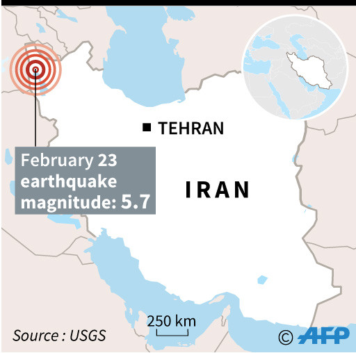 Quake in Iran kills nine in neighbouring Turkey