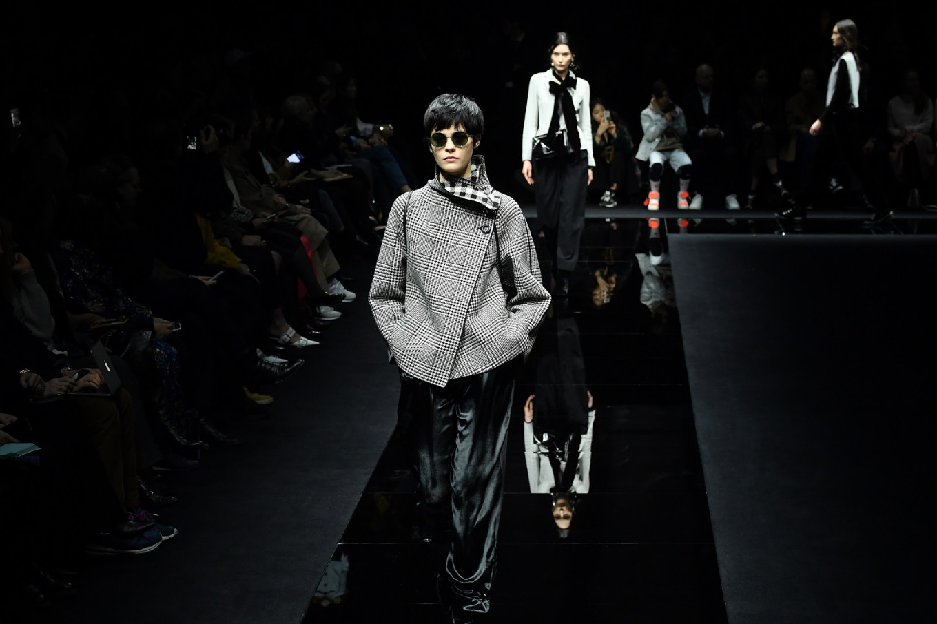 Armani takes over prime-time TV for catwalk in the time of COVID