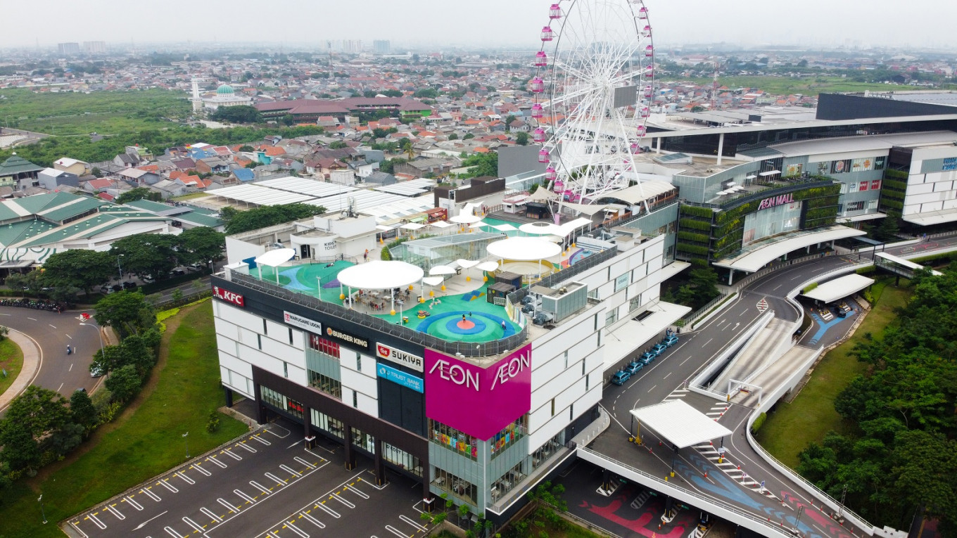 Trouble breaks out in AEON Mall, JGC as residents blame developers for flooding