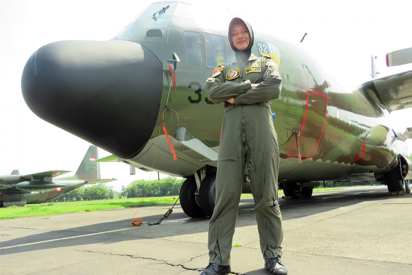 Anisa Amalia Octavia: The first female Indonesian pilot of the mighty Hercules