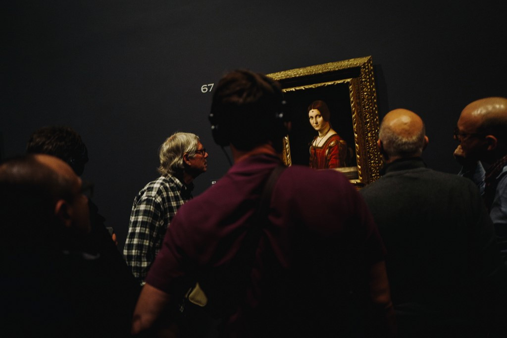 Leonardo show smashes Louvre's all-time record