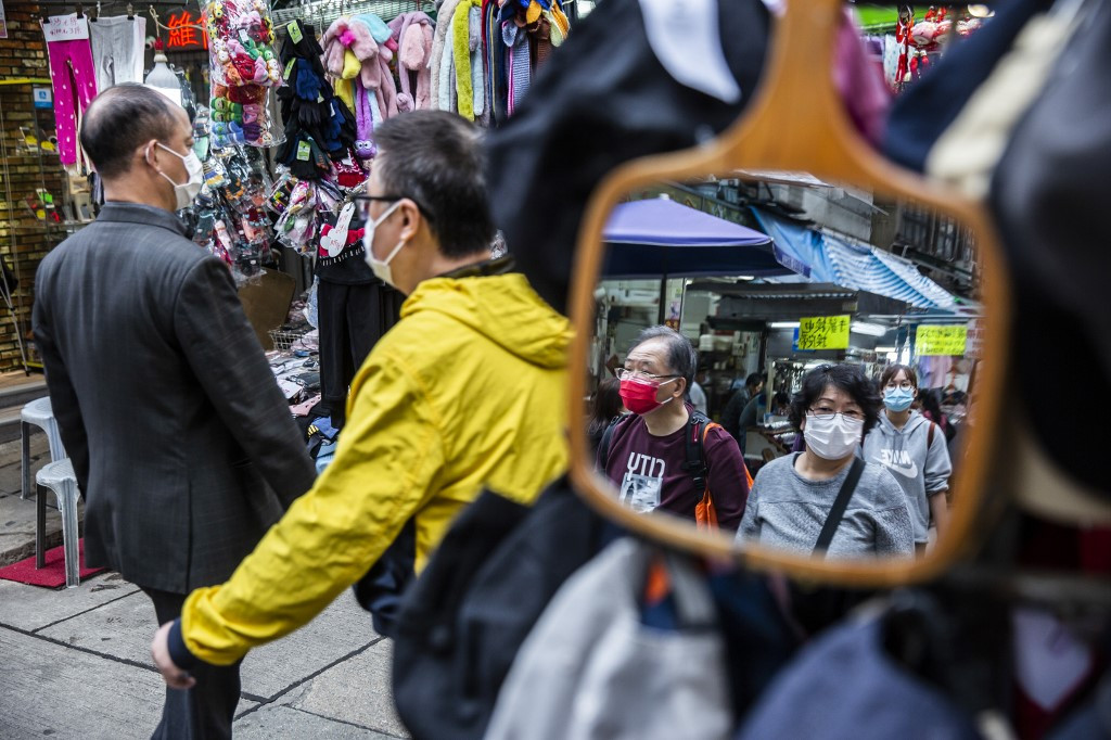 Hong Kong protesters plan a virtual rally during virus outbreak