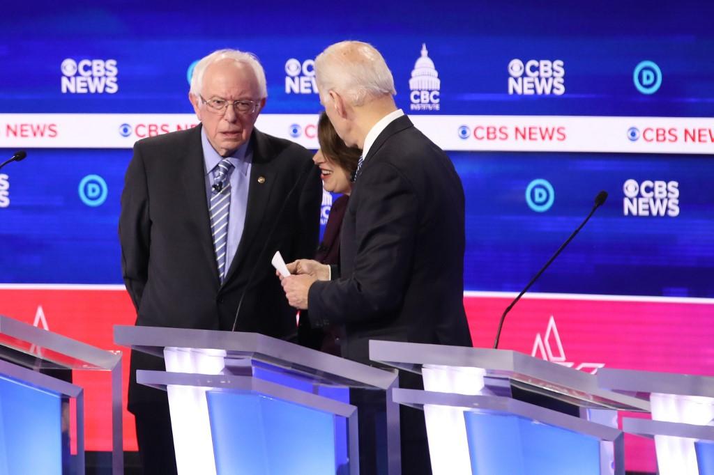 Biden to Sanders: 'Together we will beat Donald Trump'