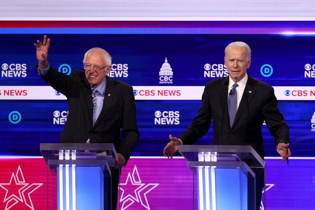 Biden aims for big Michigan win, while Sanders looks to keep White House hopes alive