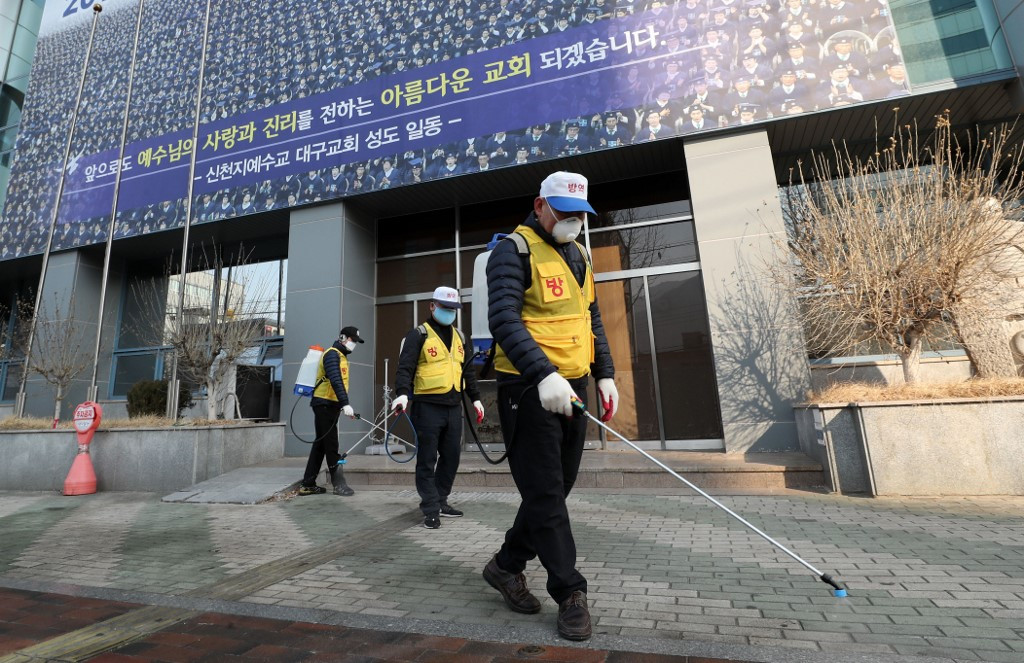 South Korean sect leader apologises over coronavirus spread