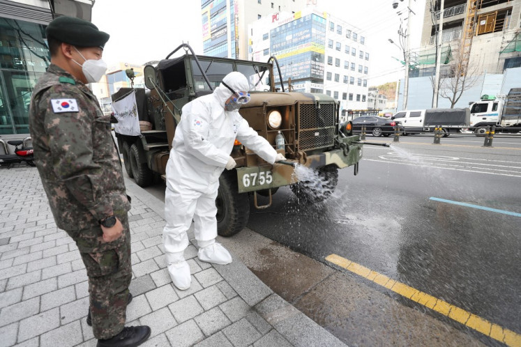 South Korea starts virus checks on 200,000-plus sect members