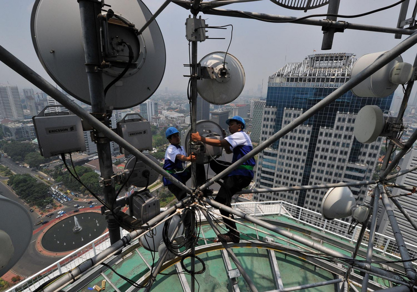 Indosat's losses double in Q1 amid organization rightsizing